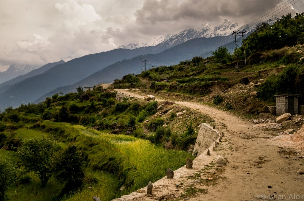 Kuari Pass trail kuari pass trek