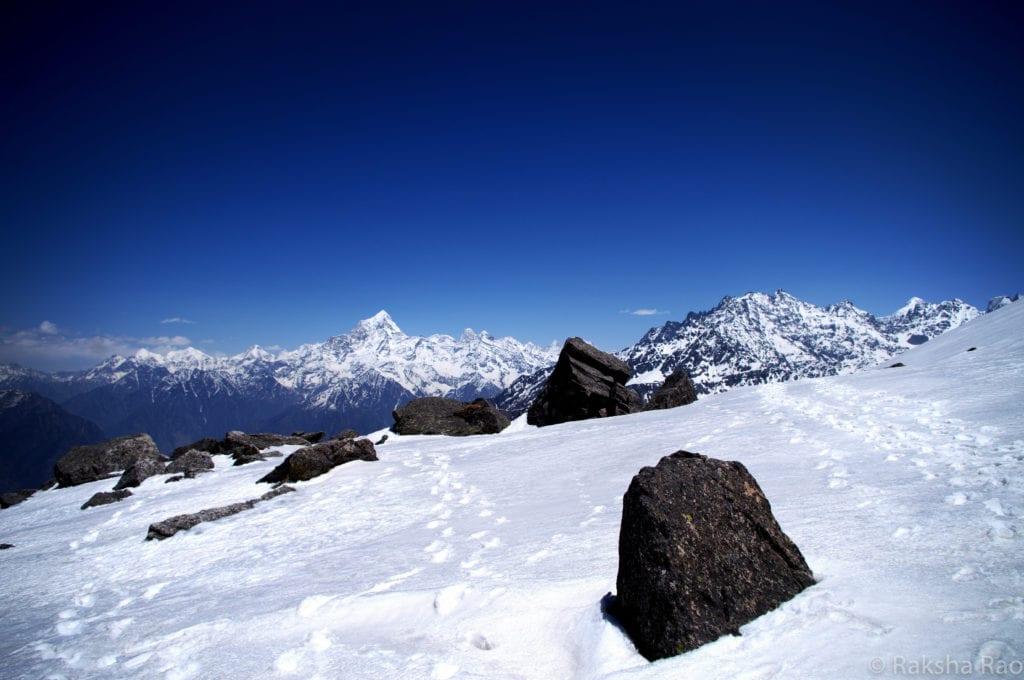 Pangarchulla Peak kuari pass trek