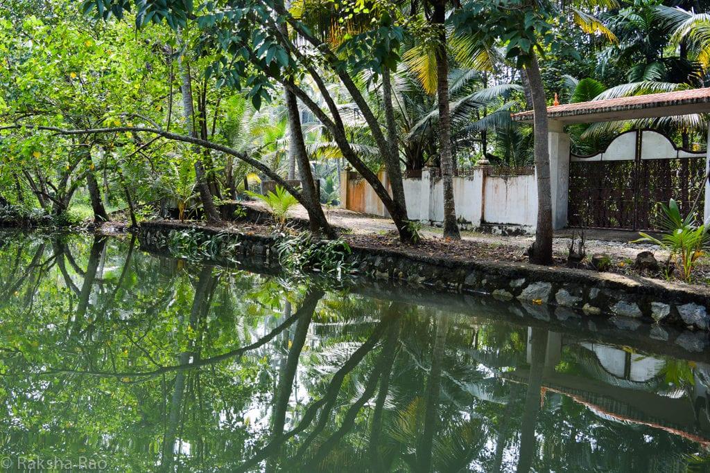 Kollam backwaters