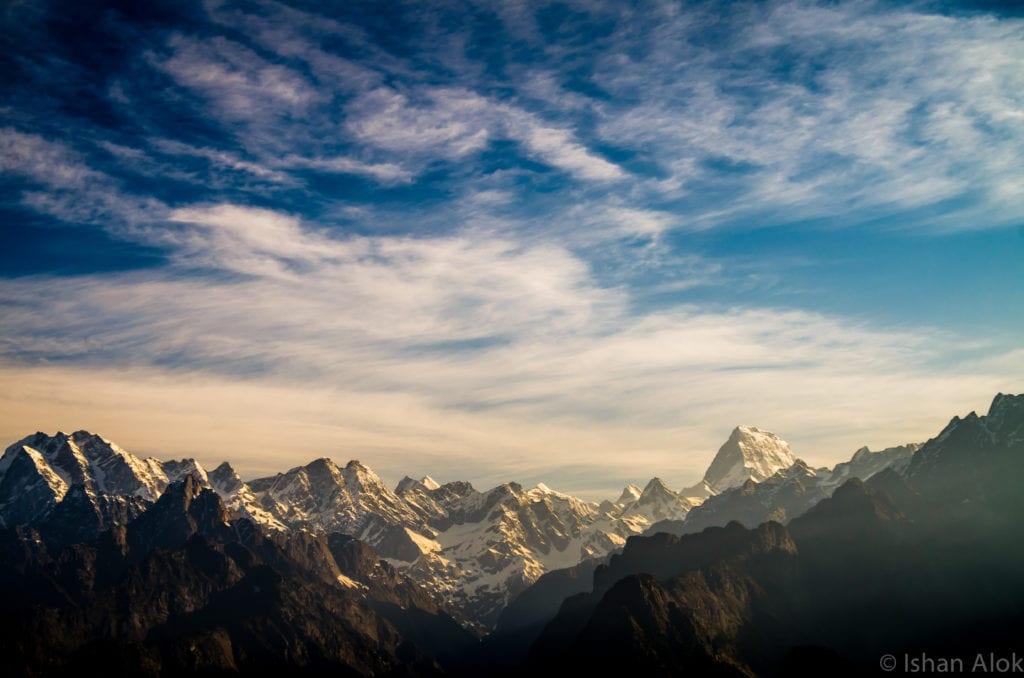 Auli Uttarakhand kuari pass trek