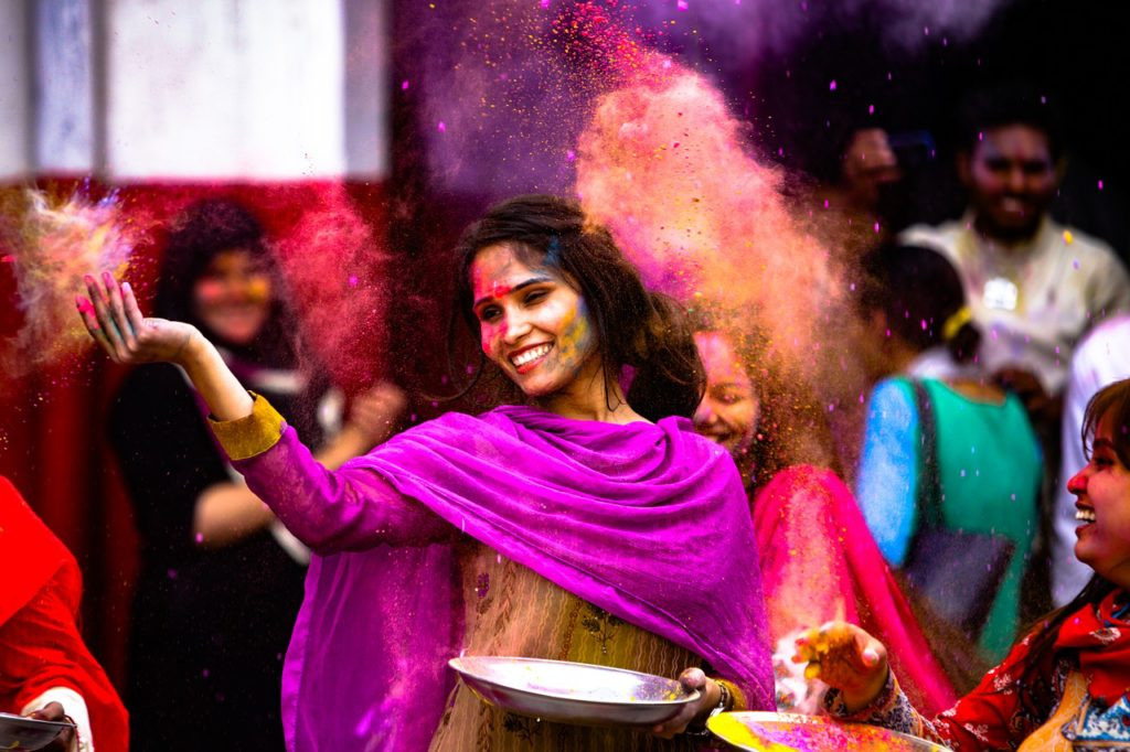 holi list of festivals of india, indian festival calendar