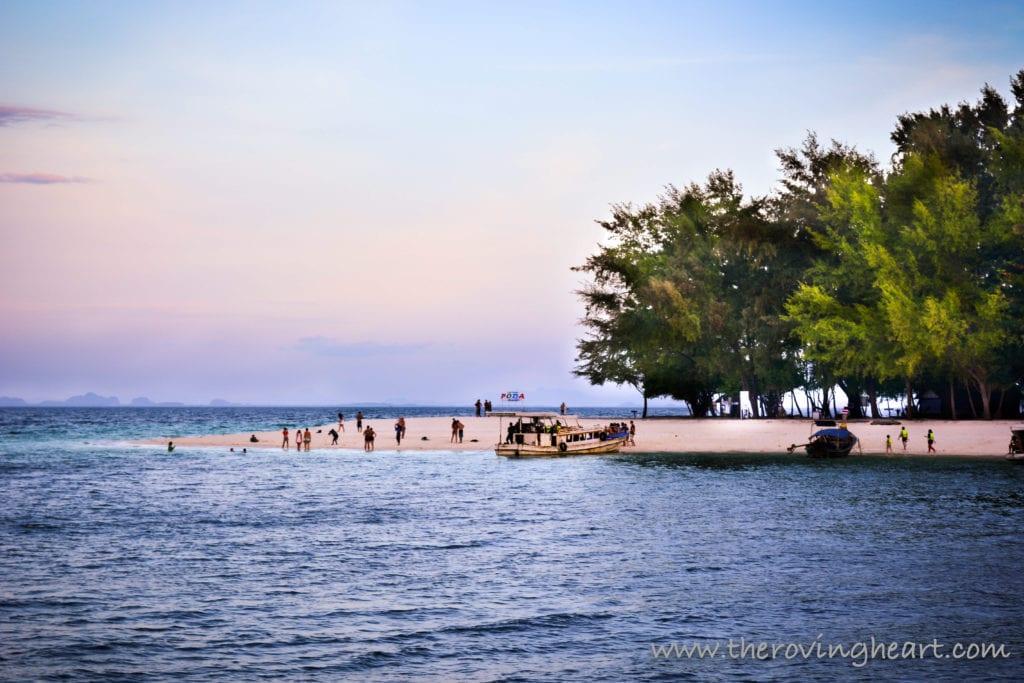 things to do in krabi thailand - poda island