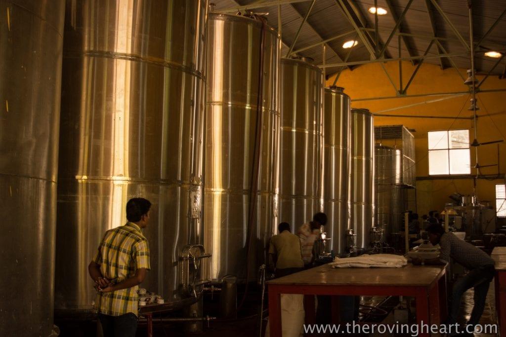 wine tanks heritage winery mysore road