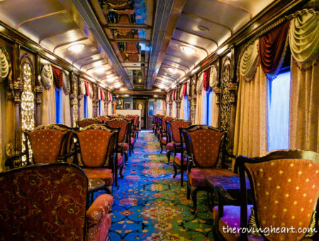 Luxury on Wheels: The Golden chariot train