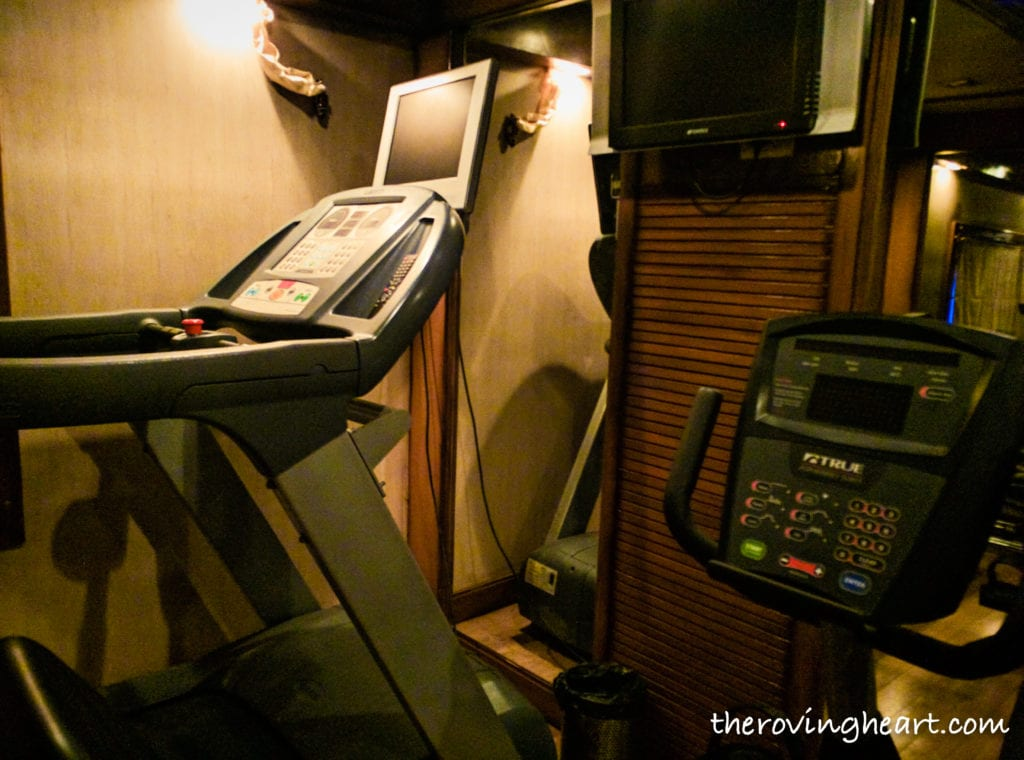 Gym Golden Chariot luxury train
