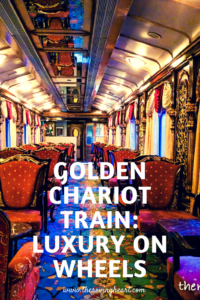 Golden Chariot train