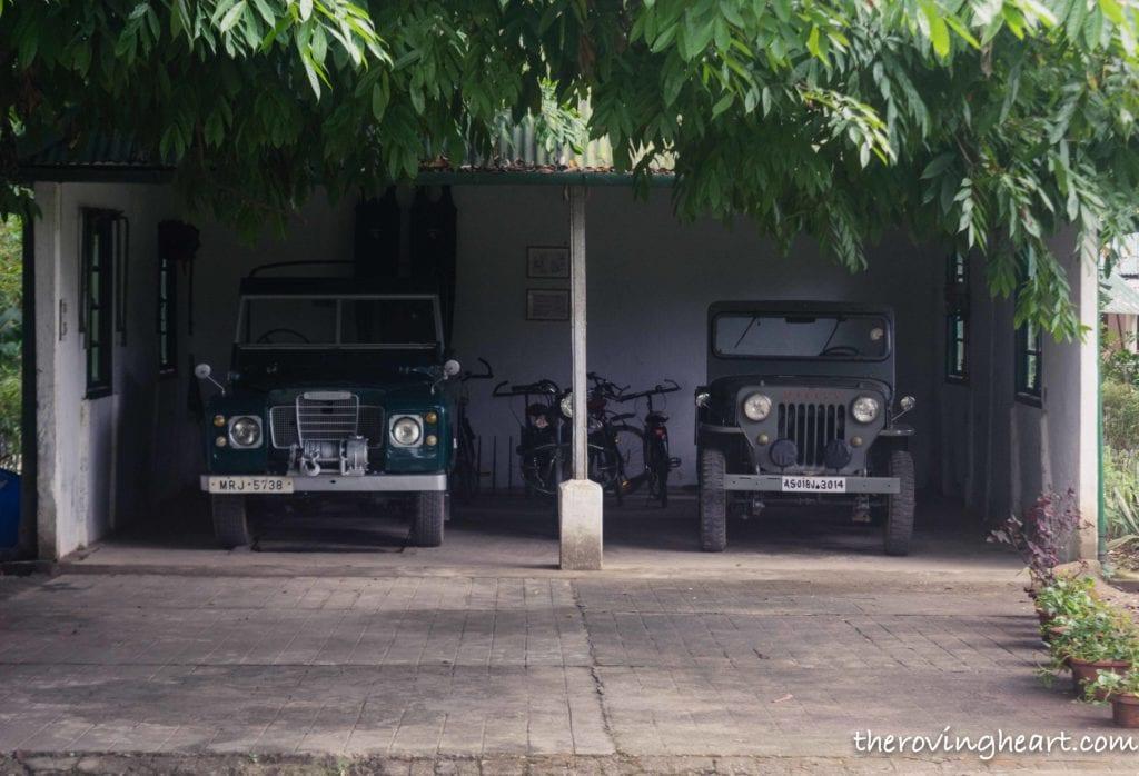 vintage jeep heritage bungalow wild mahseer