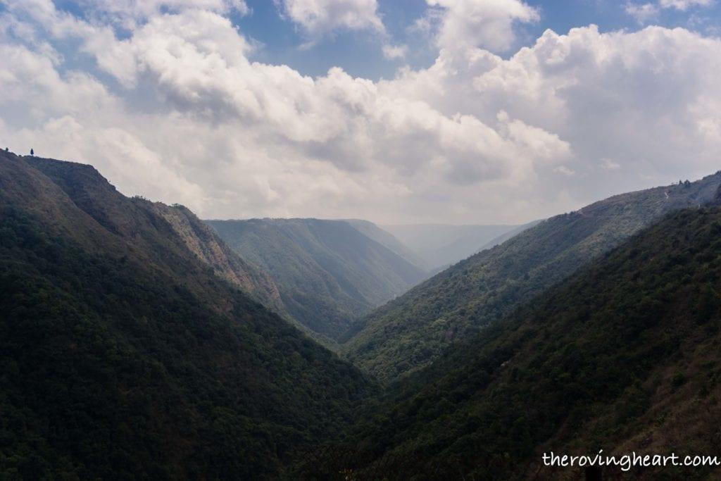 mountains Cherrapunji