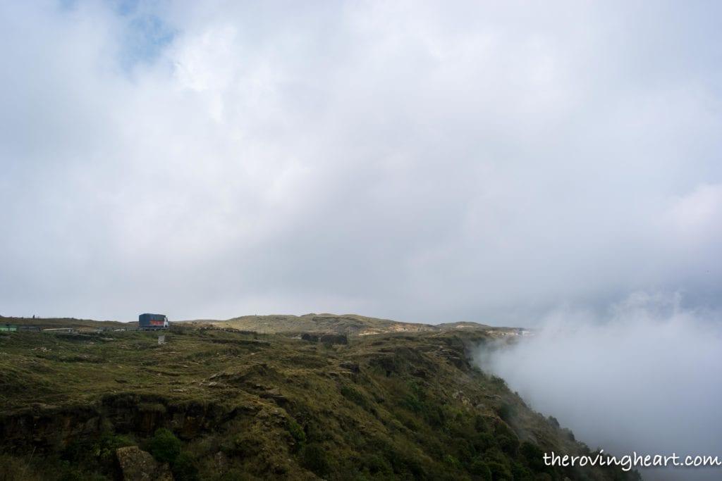 clouds cherrapunji