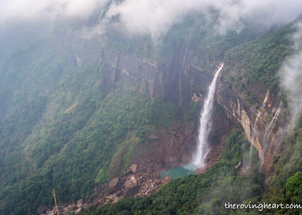 Nohkalikai Waterfalls Cherrapunji Meghalaya stories