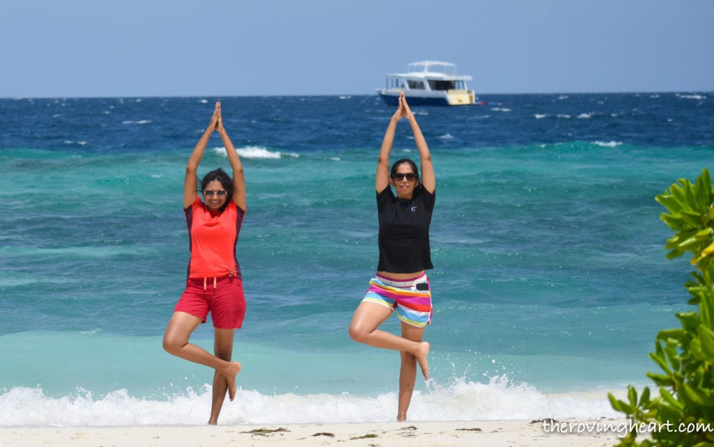 maafushi beach Maldives on a budget maafushi island