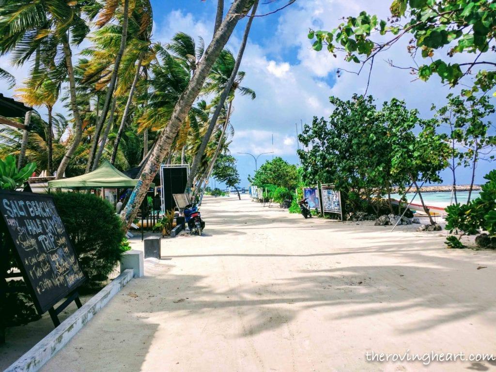 Maldives on a budget Maafushi island