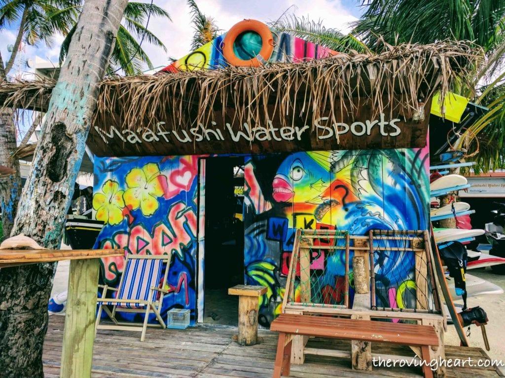 maafushi water sports Maldives on a budget Maafushi island