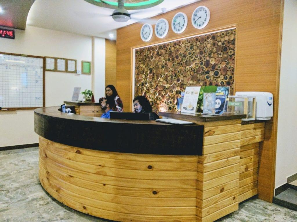triton beach hotel Maldives on a budget maafushi island