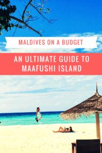 Maldives on a budget maafushi