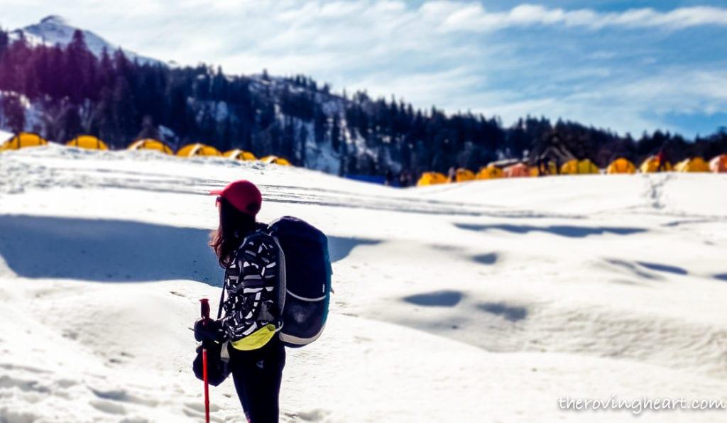 kedarkantha winter trek packing list