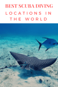 best scuba diving sites in the world