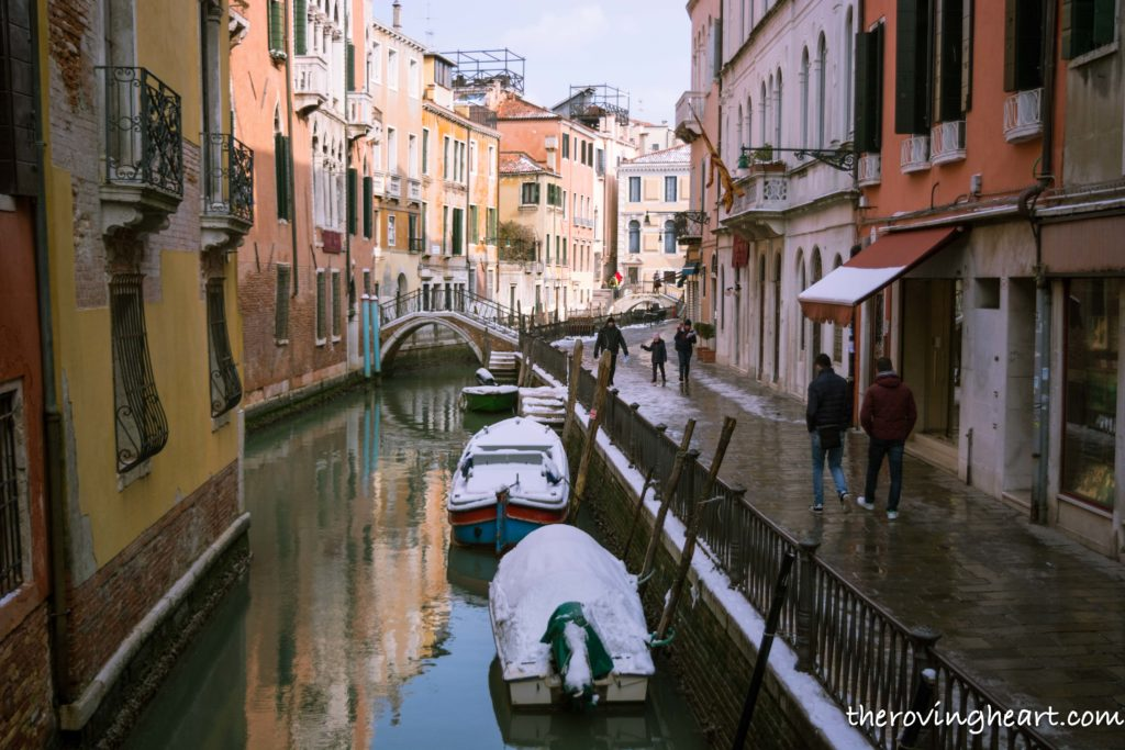 things to do in venice italy, what to do in venice italy, snow in Venice