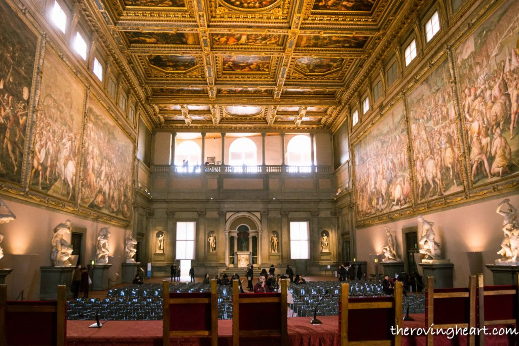 Palazzo Vecchio Florence europe trip planner european plan