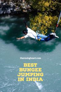bungee jumping in Rishikesh India