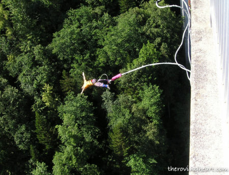 Bungee Jumping at Rishikesh: 15 Seconds of Pure Thrill