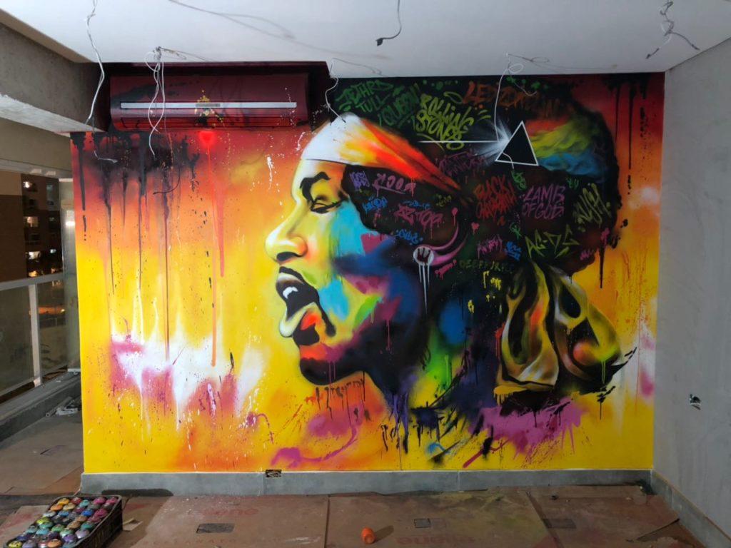 Graffiti in India