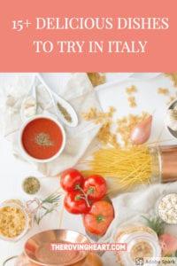 popular italian food, italian food by region, italian specialty foods