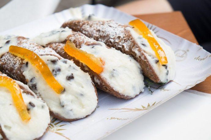 cannoli, popular italian food, italian food by region, italian specialty foods