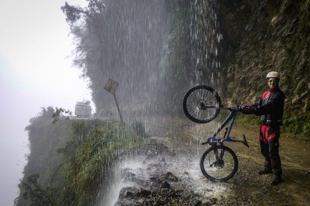 Bolivia - Death Road, unique bucket list ideas, cool bucket list ideas