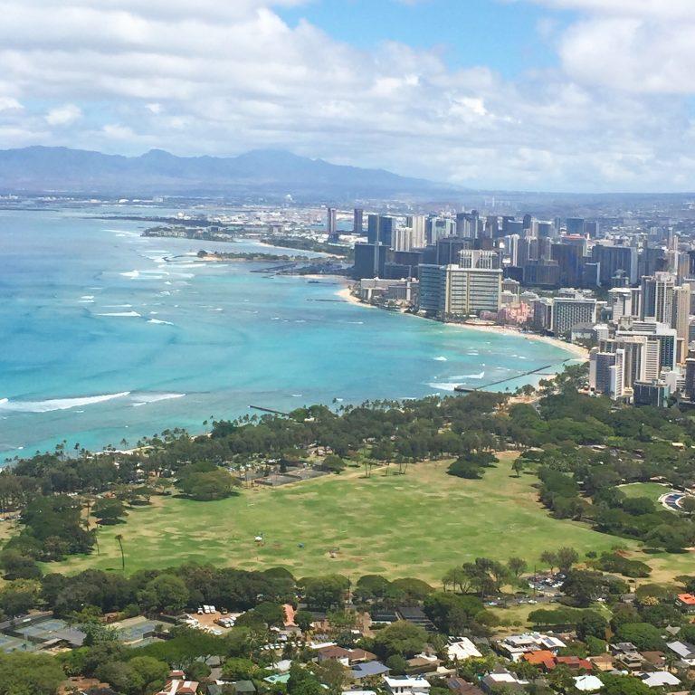 hiking diamond head oahu, hawaii, unique bucket list ideas, cool bucket list ideas