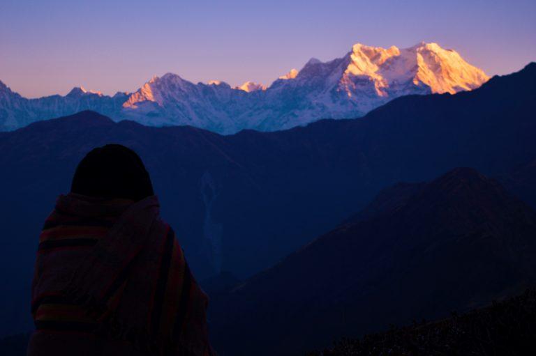 sunrise in the himalayas chopta, unique bucket list ideas, cool bucket list ideas