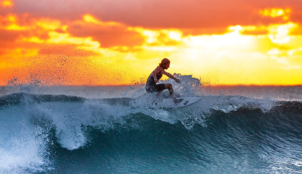 surfing maldives water sports activities, water sports in maldives, water activities in maldives, traveler's Quest Travel Quiz by The Roving Heart