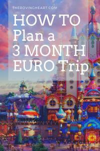 How to plan a 3 month trip to Europe on a sabbatical, how much does it cost to plan a trip to europe