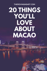 things to do in Macao