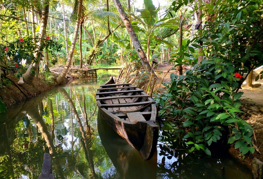 village backwaters in Munroe island Kollam, Environment category of Traveler's quest General travel quiz by The Roving Heart